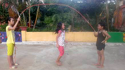Ropes for hopes in Vietnam
